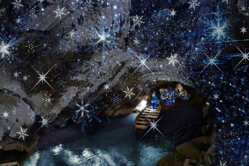 Les Grottes de Remouchamps - Magie de Noël