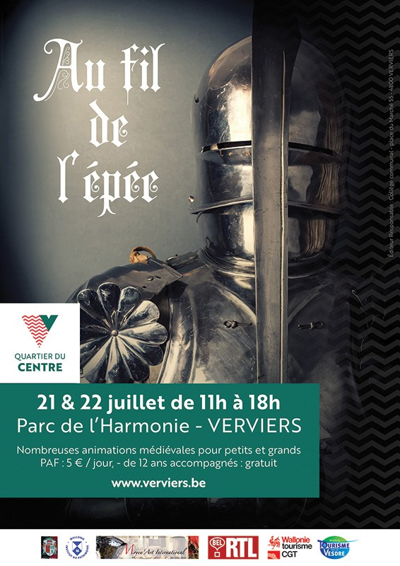 Verviers - Festival Au Fil de l'Epée - Affiche