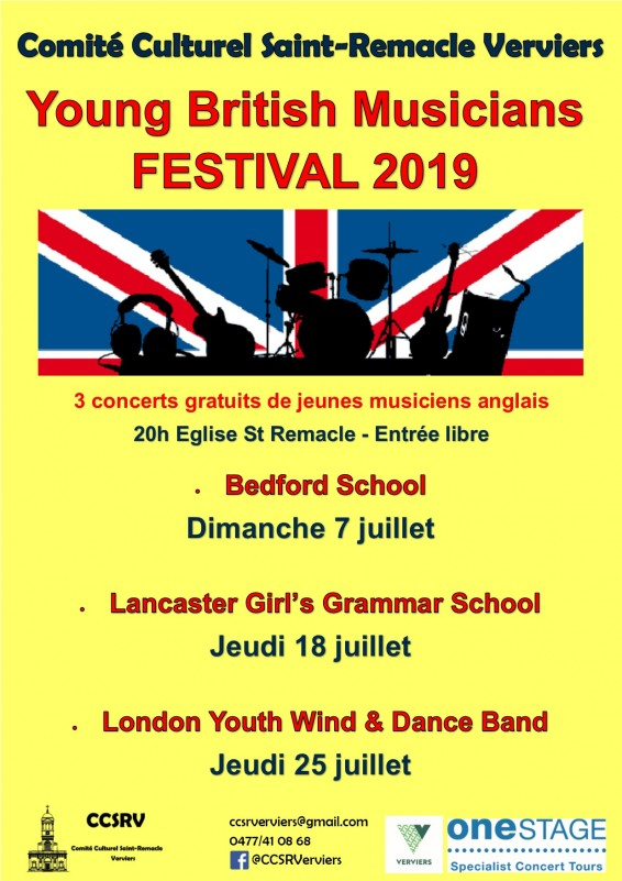 07 juillet - Young British Musicians Festival 2019