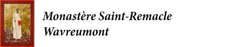 Logo monastère saint remacle wavreumont