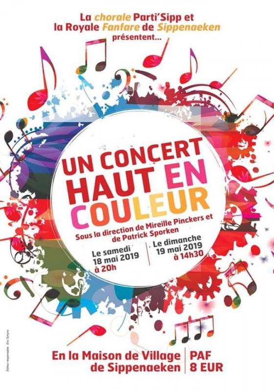 Concert haut en couleur