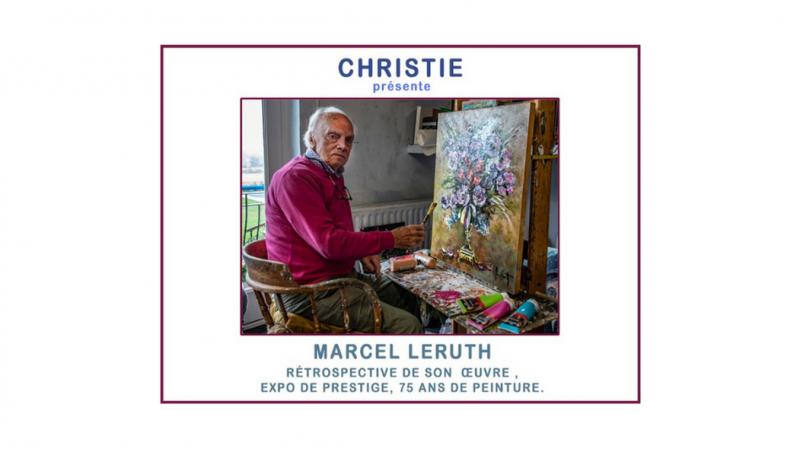 Expo des oeuvres de Marcel Leruth et Marianne Souwen (recadré) ©Christie Art 08-2021