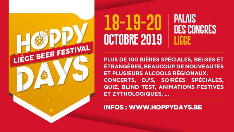Hoppy Days - Liège - Affiche