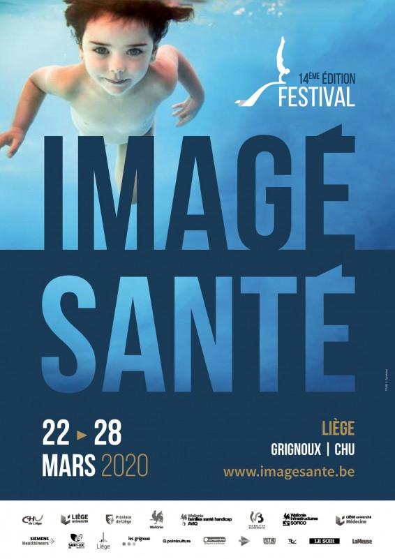 Festival Imagésanté - Liège - Affiche 2020