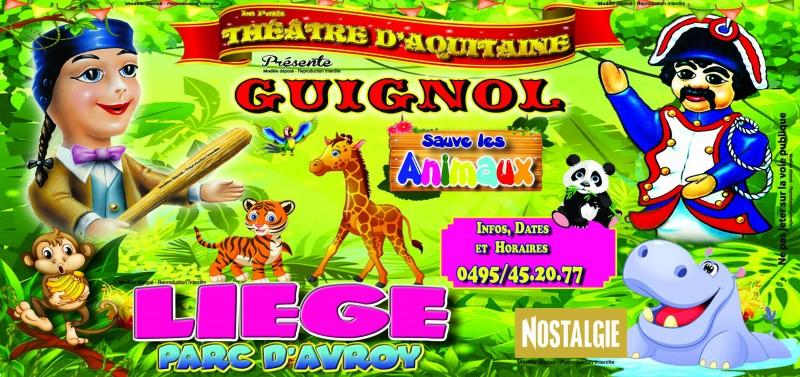 Petit Théâtre d'Aquitaine - Liège - Spectacle Guignol