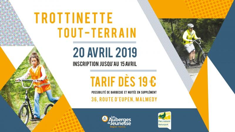 Malmedy - Trottinette tout-terrain - Affiche 2019