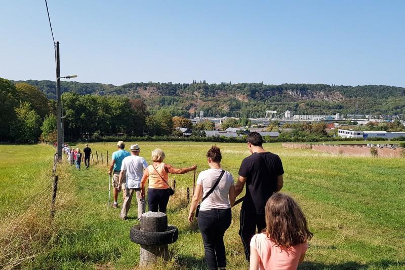 Flémalle - Balade Ramet une histoire de chemins secrets