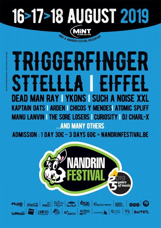 Nandrin - Festival - Affiche 2019