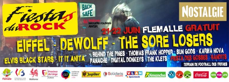 Fiesta Rock - Flémalle - Affiche