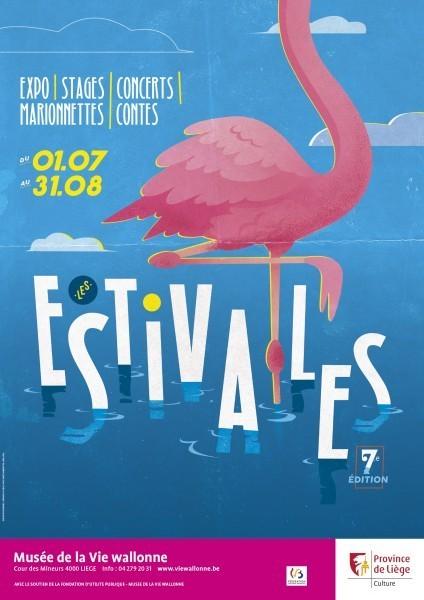 Liège - Les Estivales.be - Affiche 2019