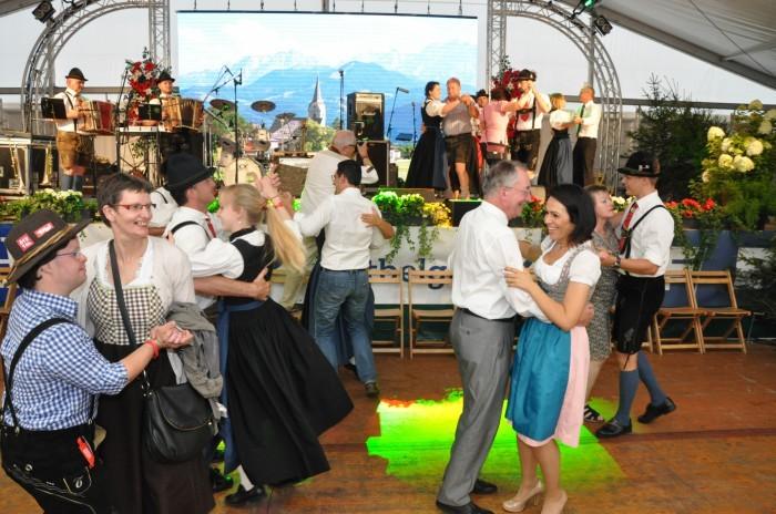 Eupen - Fête tyrolienne - Danse