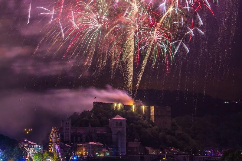 Festivités 15 Août - Huy - Feu d'artifice