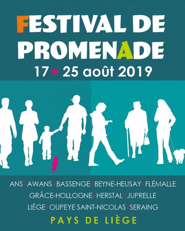Liège - Festival de promenade - Affiche 2019