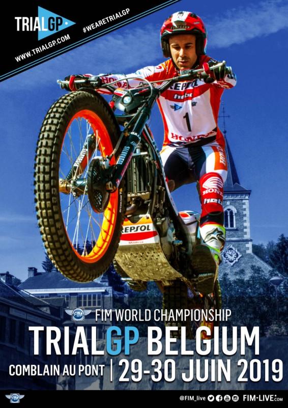 Comblain-au-Pont - Affiche Trial GP Belgium 2019