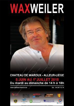 Alleur - Château de Waroux - exposition Wax Weiler