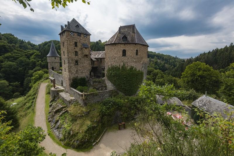 Chateau Reinhardstein - Waimes - Vue d'ensemble