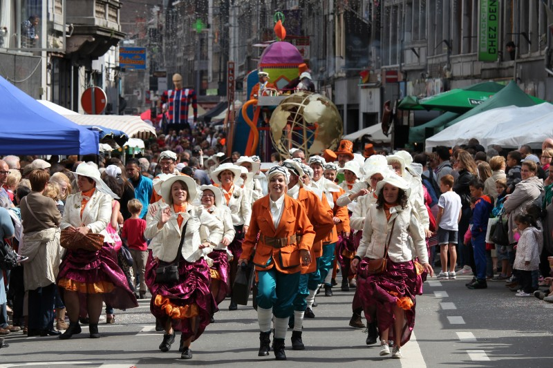 Liège - 15 aout en Outremeuse - Cortège folklorique