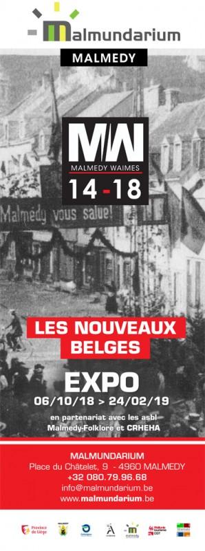 Malmedy - Exposition Les Nouveaux belges - Affiche