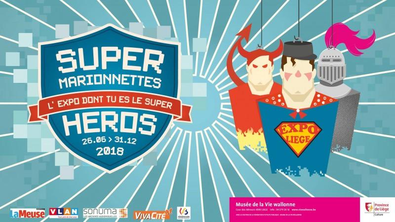 Musée Vie Wallonne - Liège - Super Marionnettes