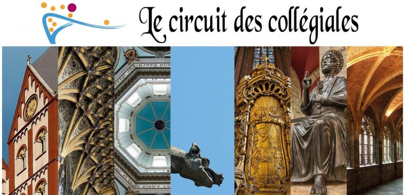 Circuit collégiales - Liège