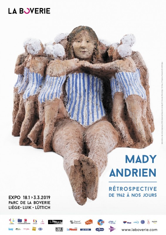 Liège - La Boverie - Exposition Mady Andrien - Baigneuses