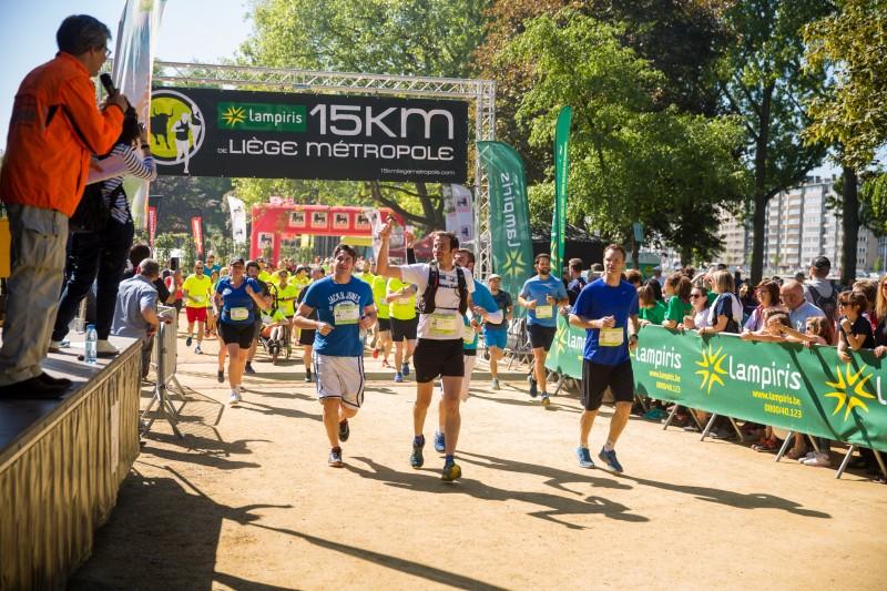 Liège - Jogging -  Les 15 Km de Liège Métropole
