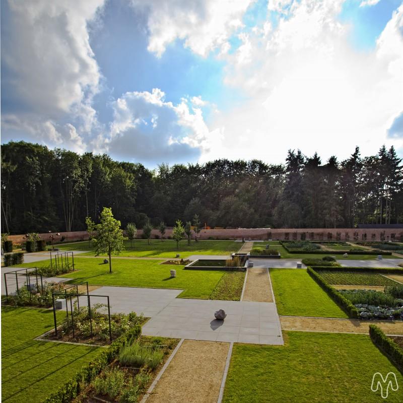 Château de jehay - Jardin-potager