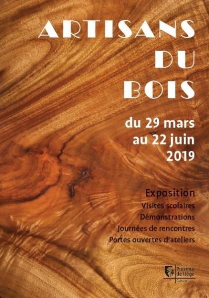 Liège - Maison des Métiers d'Art - Exposition Artisans du bois