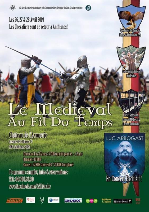 Festival au Fil du Temps - Anthisnes - Affiche