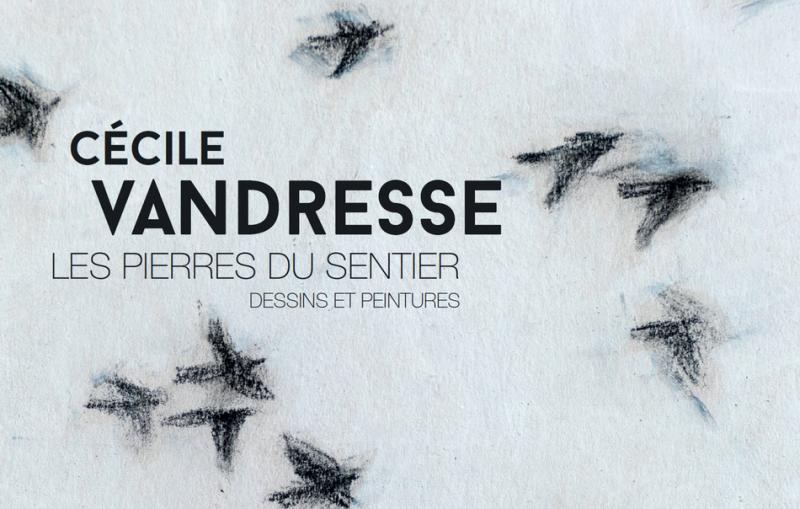 Liège - La Boverie - Affiche expo Cécile Vandresse