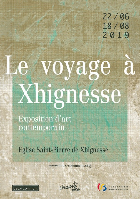 Xhignesse - Exposition d'art contemporain - Affiche