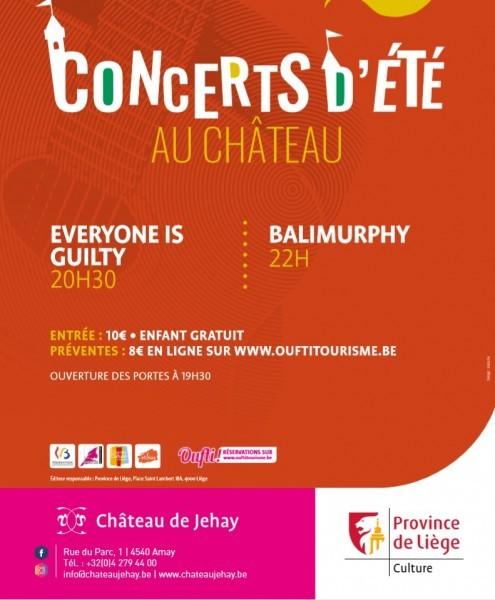 Jehay - Concerts d'été - Affiche juillet 2019