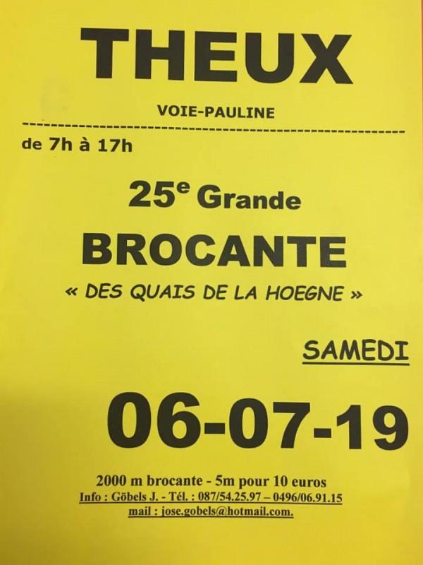 Brocante - Theux - Affiche