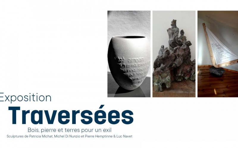 Liège - Exposition Traversées - Affiche