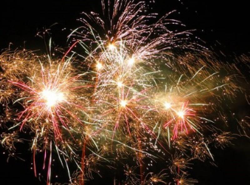 Butgenbach - Fête d'été - feu d'artifice