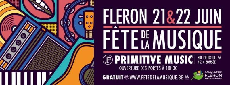 Fête Musique - Fléron - Affiche