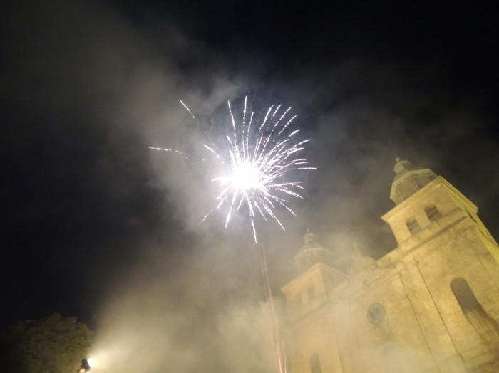Malmedy - Fête Nationale - feu d'artifice