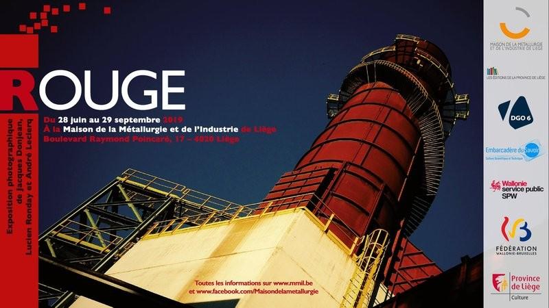 Liège - Exposition de photgraphies : Rouge - Affiche