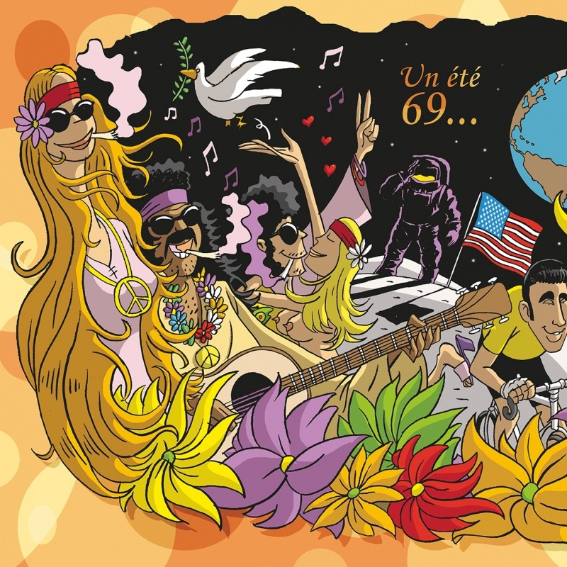 Seraing - Exposition 50 nuances de Woodstock - Illustration