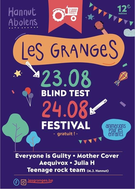 Abolens - Les Granges Festival - Affiche 2019