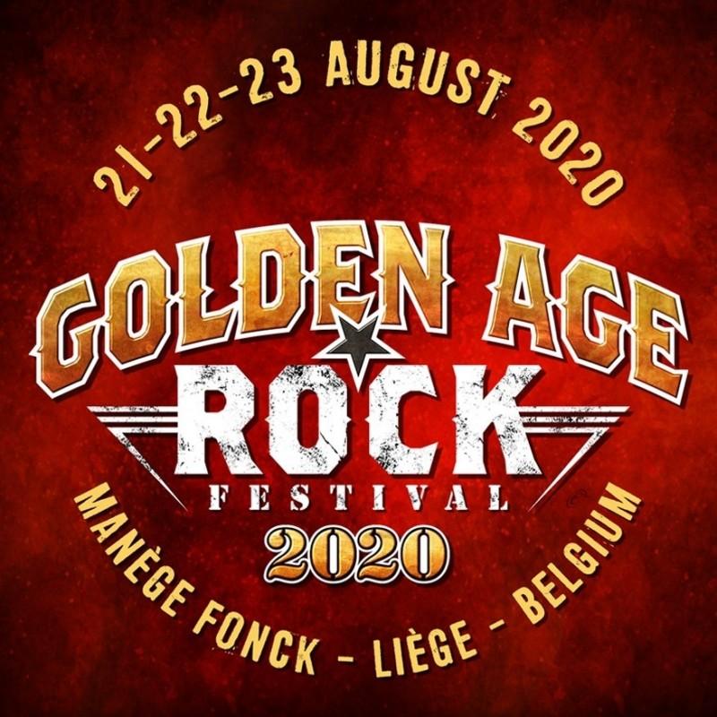 Golden Age Rock Festival - Liège - Logo