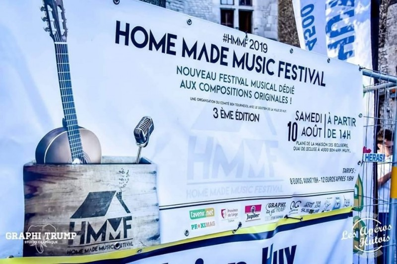 Home Made Festival - Huy - Affiche