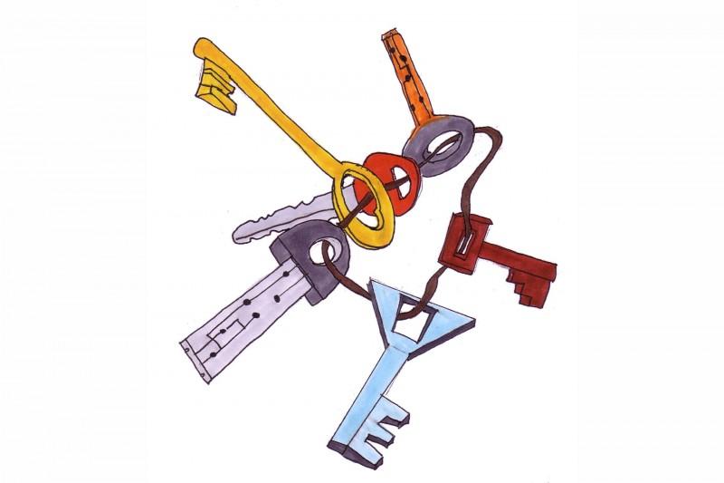 Clés plein les poches - Wanze - Logo