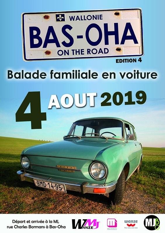 Bas-Oha - Balade voiture : Bas-Oha On The Road - Affiche 2019