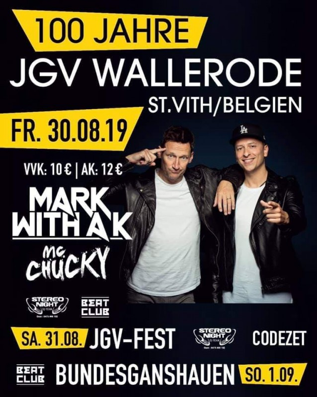 Mark with a K - JGV Wallerode - affiche
