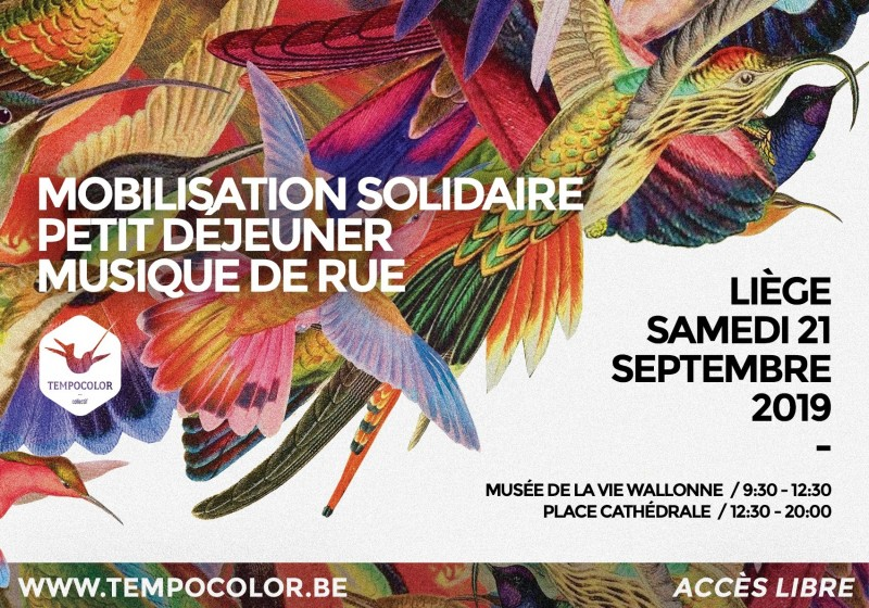 TempoColor - Liège - Affiche