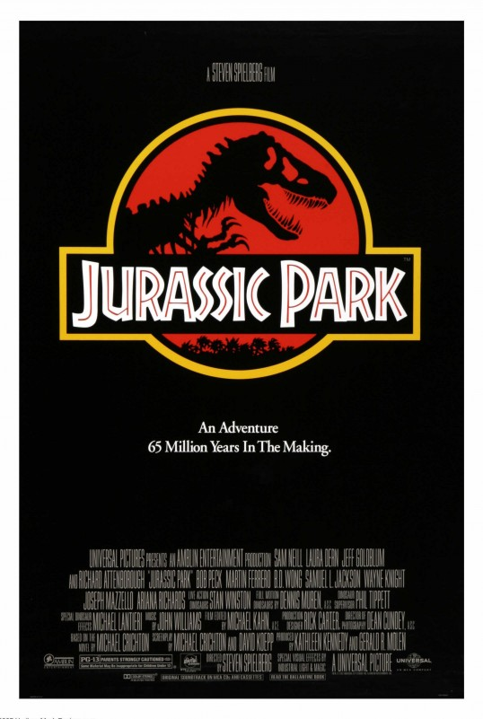 31 oct - Jurassic Park affiche
