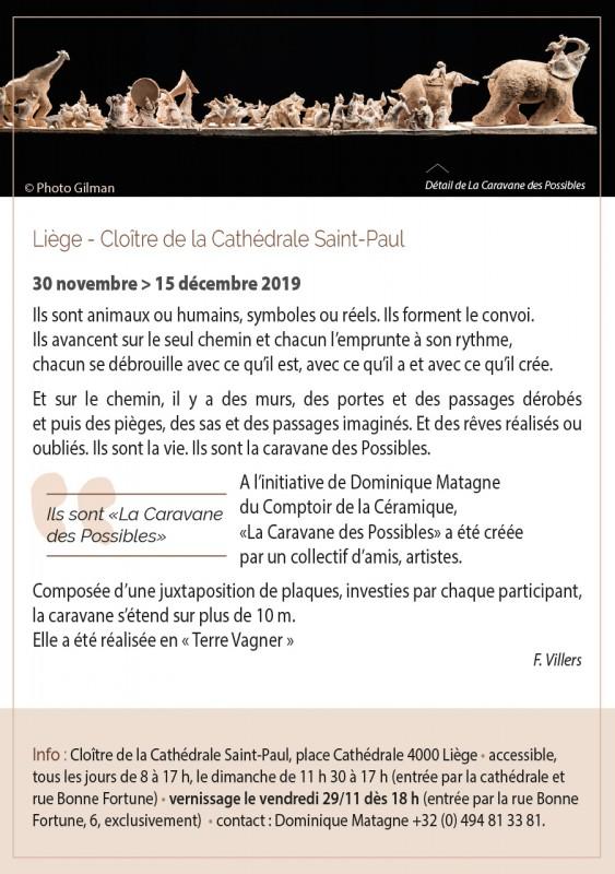 Liège - Exposition - La Caravane des Possibles - Affiche
