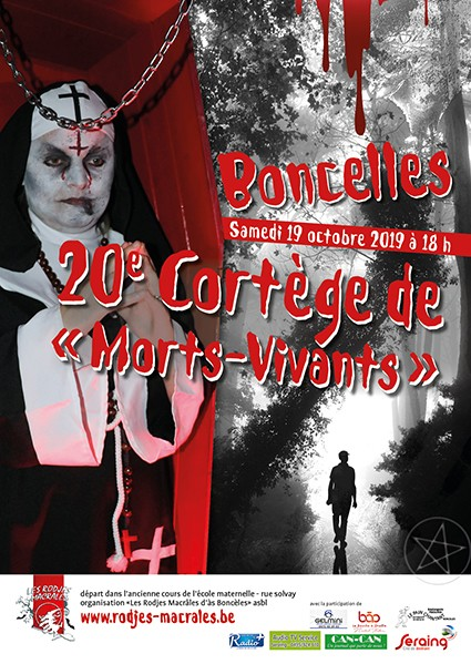 Cortège des Morts Vivants - Boncelles - Affiche 2019