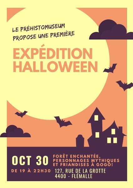 Expédition Halloween - Ramioul - Affiche